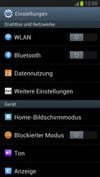 Samsung Galaxy S III - Internet und Datenroaming - Deaktivieren von Datenroaming - Schritt 4