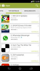 Sony Xperia M2 - Apps - Herunterladen - 8 / 20
