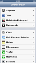 Apple iPhone 5 - Internet - Manuelle Konfiguration - Schritt 3