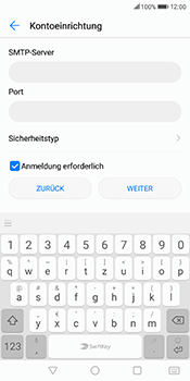 Huawei Mate 10 Lite - E-Mail - Konto einrichten - Schritt 14