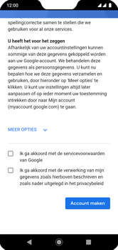 Xiaomi mi-a2-lite-dual-sim-m1805d1sg-android-pie - Applicaties - Account aanmaken - Stap 16