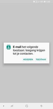 Samsung galaxy-a6-plus-sm-a605fn-ds - E-mail - Account instellen (IMAP zonder SMTP-verificatie) - Stap 5