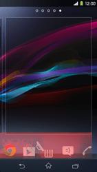 Sony Xperia Z1 - Operazioni iniziali - Installazione di widget e applicazioni nella schermata iniziale - Fase 8