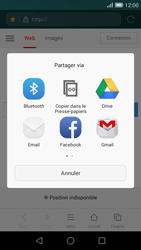 Huawei Ascend G7 - Internet - navigation sur Internet - Étape 16