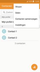 Samsung J500F Galaxy J5 - Contacten en data - Contacten kopiëren van toestel naar SIM - Stap 5