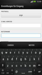HTC One - E-Mail - Konto einrichten - Schritt 8