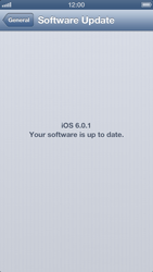 Apple iPhone 5 - Software - Installing software updates - Step 8