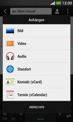 HTC Desire 500 - MMS - Erstellen und senden - 14 / 20