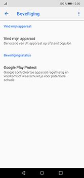 Huawei P20 Lite - Beveiliging en privacy - zoek mijn mobiel activeren - Stap 5