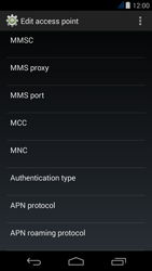 Acer Liquid Jade - MMS - Manual configuration - Step 15
