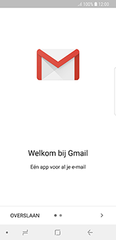 Samsung Galaxy S8 - Android Oreo - E-mail - handmatig instellen (gmail) - Stap 4