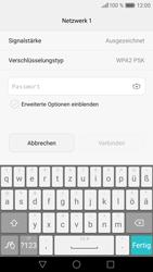Huawei P9 Lite - WLAN - Manuelle Konfiguration - Schritt 7