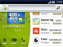 Sony Ericsson Xperia X10 Mini Pro - Apps - Herunterladen - Schritt 11
