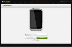 HTC X315e Sensation XL - Software - Sicherungskopie Ihrer Daten erstellen - Schritt 4