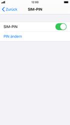 Apple iPhone SE - iOS 14 - Startanleitung - So aktivieren Sie eine SIM-PIN - Schritt 8