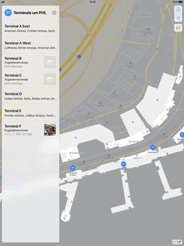 Apple iPad Pro 12.9 inch - iOS 11 - Indoor-Karten (Einkaufszentren/Flughäfen) - 11 / 12