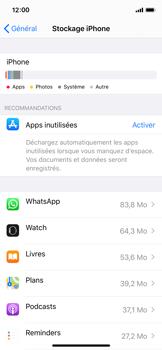 Apple iPhone X - iOS 13 - Applications - Comment désinstaller une application - Étape 5