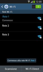 Samsung Galaxy Ace III - WiFi - Configurazione WiFi - Fase 8