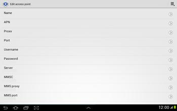 Samsung N8000 Galaxy Note 10-1 - MMS - Manual configuration - Step 9