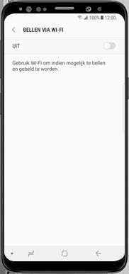 Samsung Galaxy J7 (2017) - Bellen - bellen via wifi (VoWifi) - Stap 7