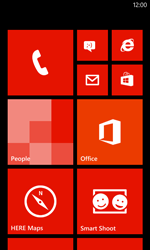 Nokia Lumia 720 - Internet - Manual configuration - Step 1