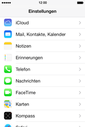 Apple iPhone 4S iOS 7 - MMS - Manuelle Konfiguration - Schritt 6