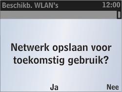Nokia Asha 302 - wifi - handmatig instellen - stap 9