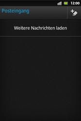 Sony Xperia Go - E-Mail - E-Mail versenden - Schritt 4