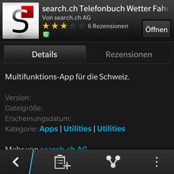 BlackBerry Q10 - Apps - Installieren von Apps - Schritt 14