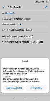 Huawei Mate 10 Pro - E-Mail - E-Mail versenden - 12 / 18