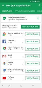 Samsung Galaxy Note9 - Applications - Comment vérifier les mises à jour des applications - Étape 6