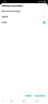 LG g7-thinq-g710 - E-mail - Account instellen (POP3 zonder SMTP-verificatie) - Stap 10