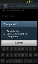Samsung Galaxy Express - E-Mail - Manuelle Konfiguration - Schritt 15