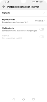 Huawei Y6 (2019) - Internet - comment configurer un point d'accès mobile - Étape 5