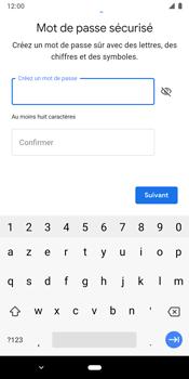 Google Pixel 3 - Applications - Créer un compte - Étape 13