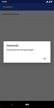 Nokia 3.1 Plus - Android Pie - voicemail - handmatig instellen - stap 12