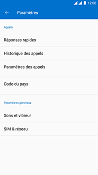 OnePlus 3 - Android Oreo - Messagerie vocale - Configuration manuelle - Étape 6
