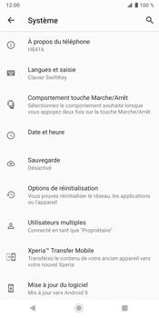 Sony Xperia XZ3 - Données - créer une sauvegarde avec votre compte - Étape 6
