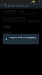 Samsung Galaxy Note II - Réseau - Sélection manuelle du réseau - Étape 10
