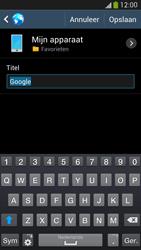 Samsung I9295 Galaxy S IV Active - Internet - hoe te internetten - Stap 7