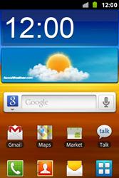 Samsung S7500 Galaxy Ace Plus - Internet - automatisch instellen - Stap 1
