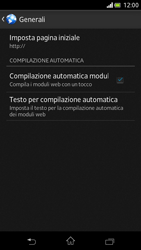 Sony Xperia V - Internet e roaming dati - Configurazione manuale - Fase 22