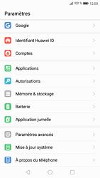 Huawei P9 - Android Nougat - Appareil - Réinitialisation de la configuration d