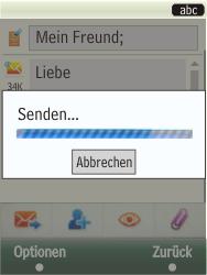 Samsung TouchWiz - MMS - Erstellen und senden - 24 / 25