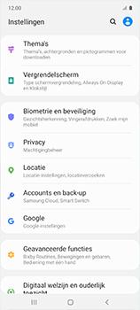 Samsung galaxy-a51-sm-a515f - Instellingen aanpassen - Back-up maken in je account - Stap 4