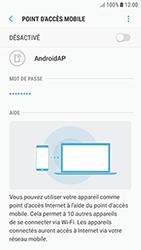 Samsung Galaxy J3 (2017) - Internet et connexion - Partager votre connexion en Wi-Fi - Étape 7