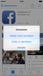 Apple iPhone 5s - iOS 8 - Applications - Créer un compte - Étape 9