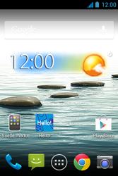 Acer Liquid Z3 - MMS - handmatig instellen - Stap 1