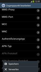 Samsung Galaxy S4 LTE - Internet - Manuelle Konfiguration - 14 / 26