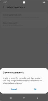 Samsung Galaxy Note 10 Plus 5G - Network - Manual network selection - Step 8